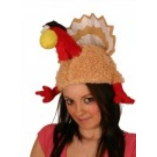 Thanks Giving Turkey Hat With Legs & Tail Christmas novelty