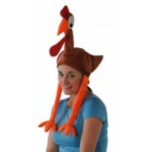 Turkey Animal Hat With Legs & Wings