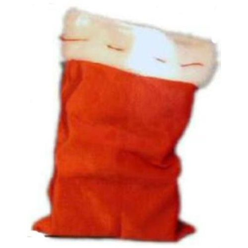 santa sack plush fake fur