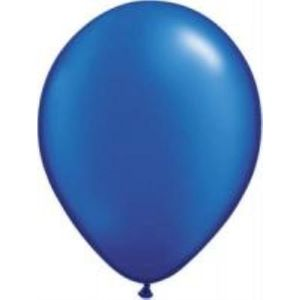 """Sapphire Blue Pearl Latex 11"""" Balloons 20 Pack"""