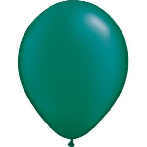 "Emerald Green Pearl Latex 11"" Balloons 20 Pack"
