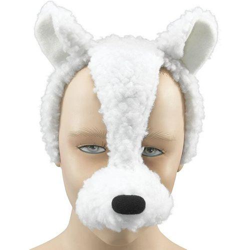 Fancy Dress Noisy Lamb Animal Mask On Headband