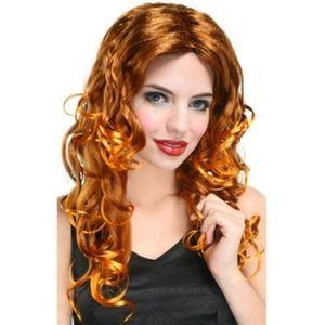 Glamour Long Wavy Wig (Auburn)