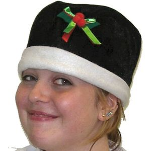 Holly Pudding Hat (Black)