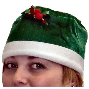 Holly Pudding Hat (Green)