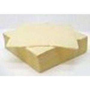Plain Dinner Napkins x 15 (Buttermilk)