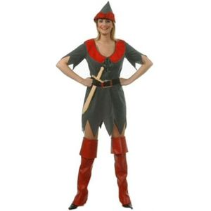 Sexy Robin Hood Peter Pan Costume Size 10-12