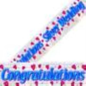 Congratulations-Silver Wedding Banner