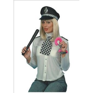 Police Woman Kit - Truncheon, Cuffs, Scarf & Epaulettes