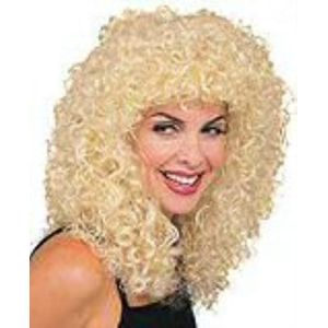 Long Curly Wig (Blonde)