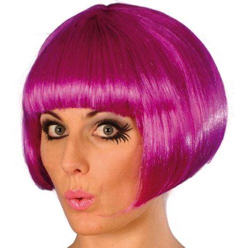 Fancy Dress Short Bob Babe Wig Purple