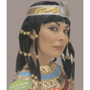 Cleopatra Wig With Headband & Collar