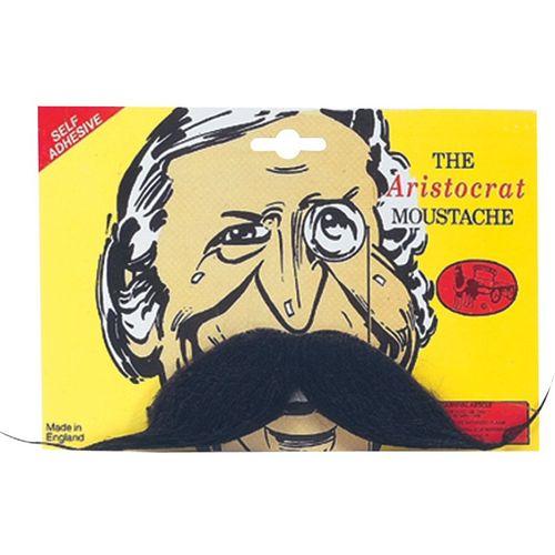 Aristocrat Black Fancy Dress Moustache