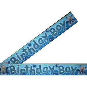 Birthday Boy Foil Banner