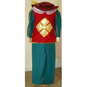 Musketeer Outfit Ex Hire Sale Costume Age 7-8 Years