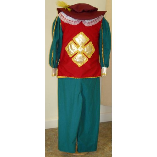 Musketeer Outfit  Ex Hire Medieval Childrens Fancy Dress Costume