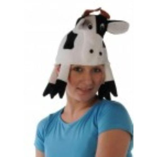 Fancy Dress Instant Animal Cow Hat Costume