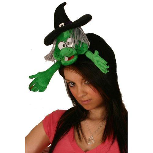 Fancy Dress Halloween Flying Witch Hat