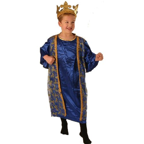 Fancy Dress Nativity King/Wise Man Gaspar Childrens Costume Age 3-5 Years