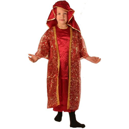 Fancy DressNativity King/Wise Man Melchior Childrens Costume Age 3-5 Years
