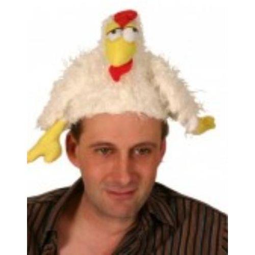Fancy Dress Chicken Hat Instant Animal Costume