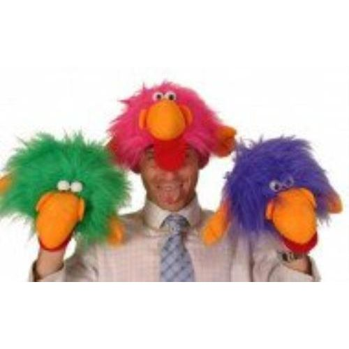 Fancy Dress Monster Bird Green Hat Animal Costume