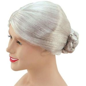 Granny Old Lady Grey Wig