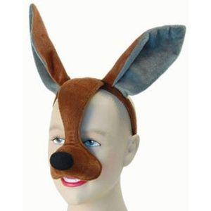 Noisy Kangaroo Animal Mask On Headband