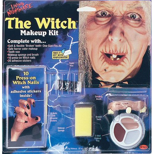 fancy dress and halloween Witch Make Up Kit