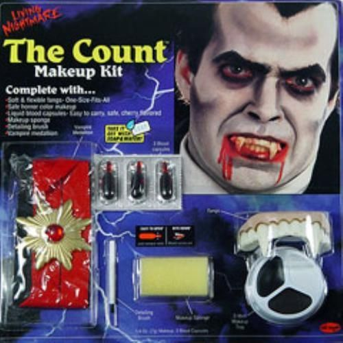 fancy dess and halloween make up The Count Make Up Kit