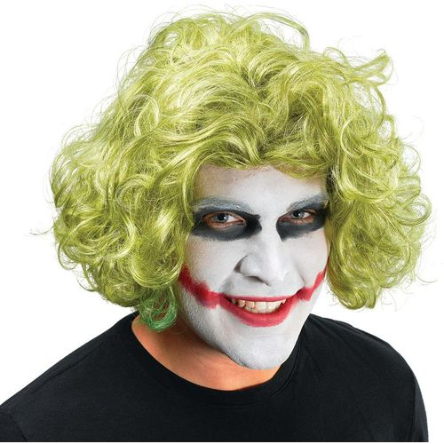 Joker Batman Dark Knight Style Green Fancy Dress Wig