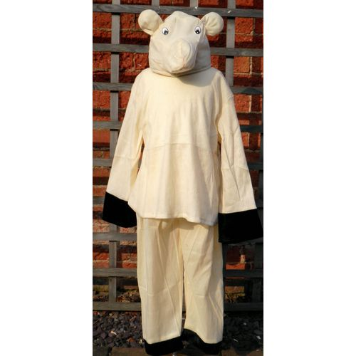 Childrens Fancy Dress Lamb Sheep Suit  Age 5-8 Years