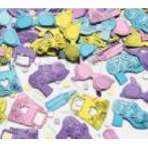 Glamour Girl Embossed Foil Confetti