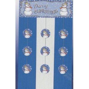 "Merry Christmas Door Curtain 32"" x 72"""