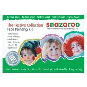 Festive Face Paint Kit