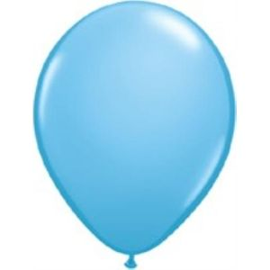 "Light Blue Pearl Latex 11"" Balloons 20 Pack"
