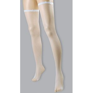 Fishnet Stockings (White)
