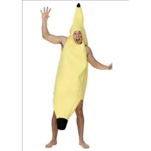 Banana Fancy Dress Costume Free Size