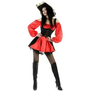 Sexy Pirate Costume Size 12-14