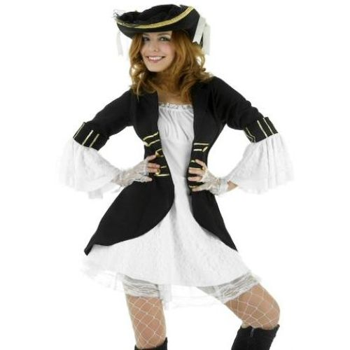 sexy fancy dress costume Sexy Captain`s Filly Dress Size 12-14