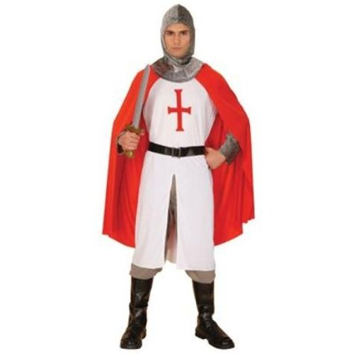 St George Knight England Fancy Dress Costume Size M-L