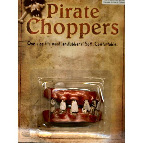 Pirate Choppers Fancy Dress Teeth & Halloween Costume Accessory