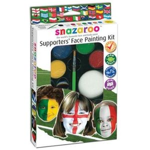 World Cup 8 Colour Face Painting Kit