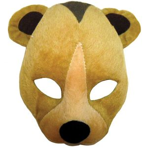 Noisy Bear Animal Mask On Headband
