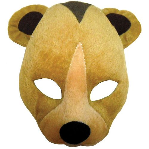 Fancy Dress Noisy Bear Animal Mask On Headband