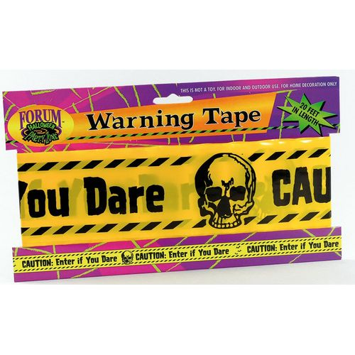 facncy dress party decoration Warning Tape approximately 610cm long