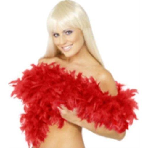 fancy dress red Feather Boa 200cm