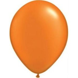 "Mandarin Orange Latex 11"" Balloons 20 Pack"