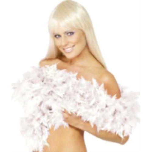 fancy dress white Feather Boa 200cm