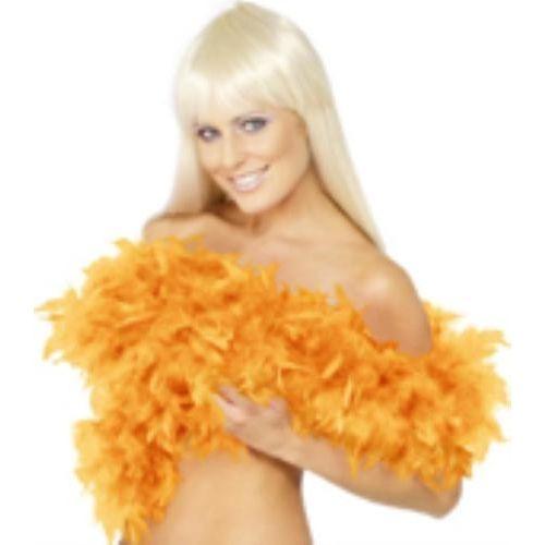 Yellow Feather Boa 200cm Fancy Dress Accessory